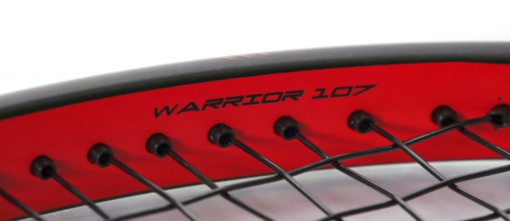 Prince Textreme Warrior 107 close