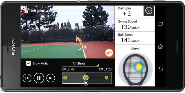 Sony Smart Sensor Live Mode Video