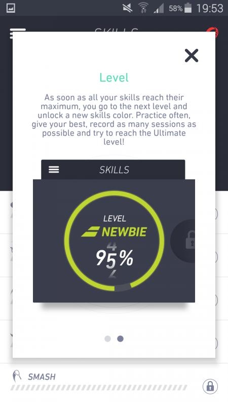 Babolat POP skill level explained
