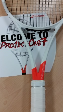 Babolat ProjectOne7 two