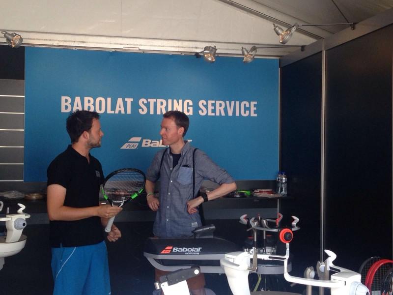 Ricoh Open Rosmalen 2016 Babolat String Service