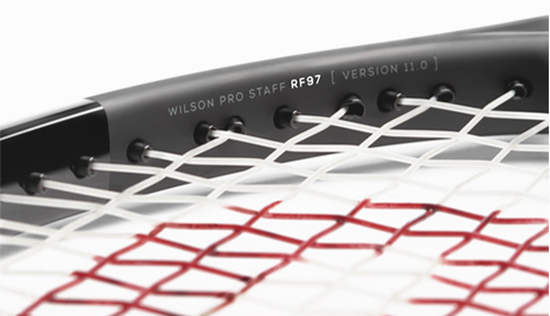 Wilson Pro Staff RF 97 Autograph 2016 throat