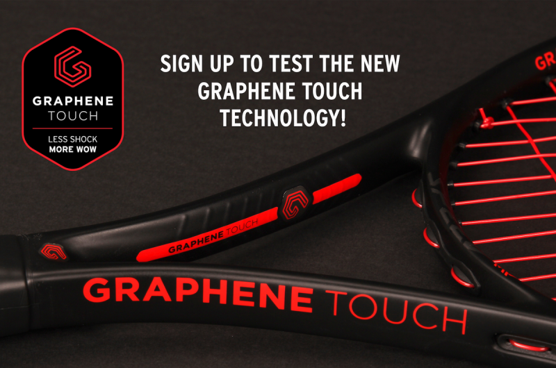 Head Graphene Touch test