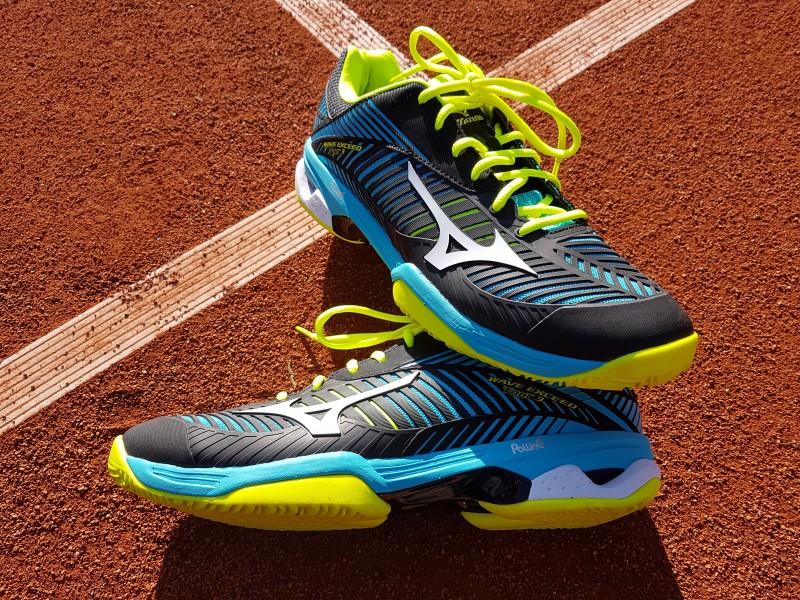 low priced 23353 80182 Mizuno is bezig aan een flinke opmars in tennis(schoenen)land. Zo was het  het meest gedragen schoenenmerk tijdens de Australian Open 2018.