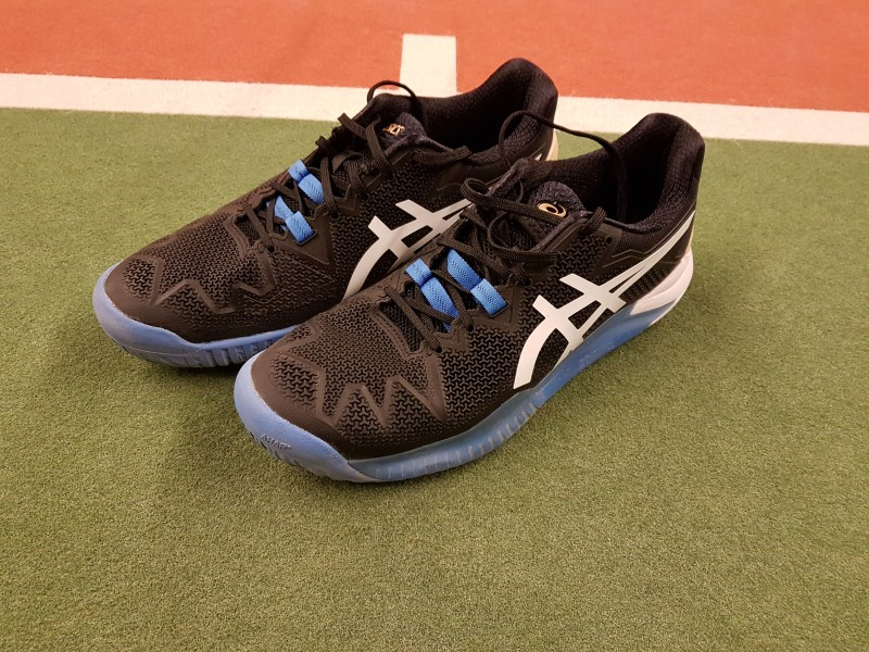 ASICS Gel Resolution 8 getest Mijnracket.nl
